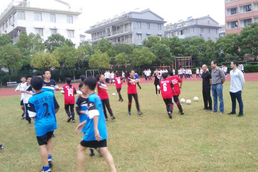 Fútbol en China